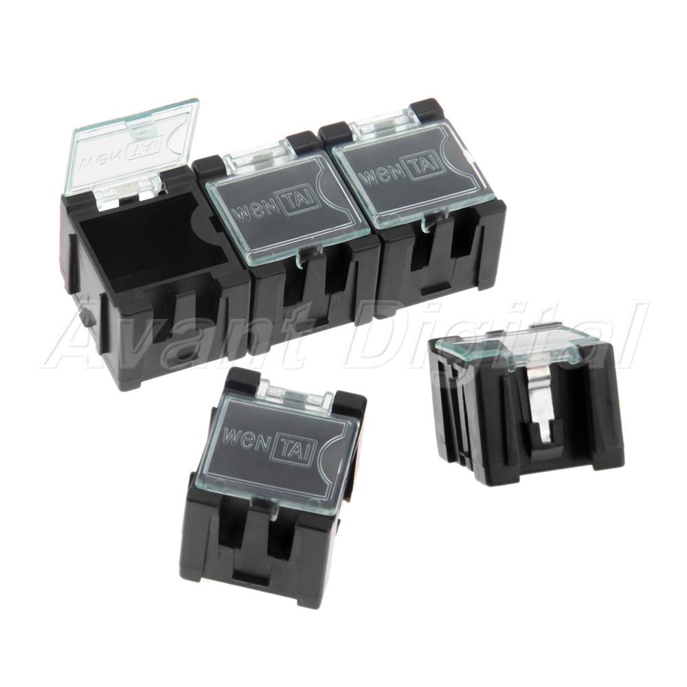 10-100pcs Components Part Laboratory Storage Electronic SMD Box SMT Anti-Static