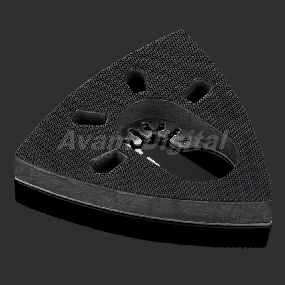Triangular Sanding Pad Oscillating Multi Tool Sander Saw Blades Pad 93mm Newly