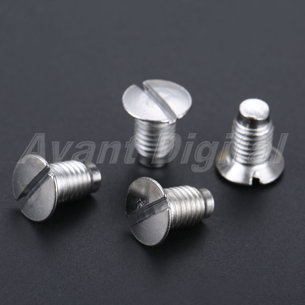 50pcs Universal Industrial Sewing Machine Needle Plate Screws Stainless Steel