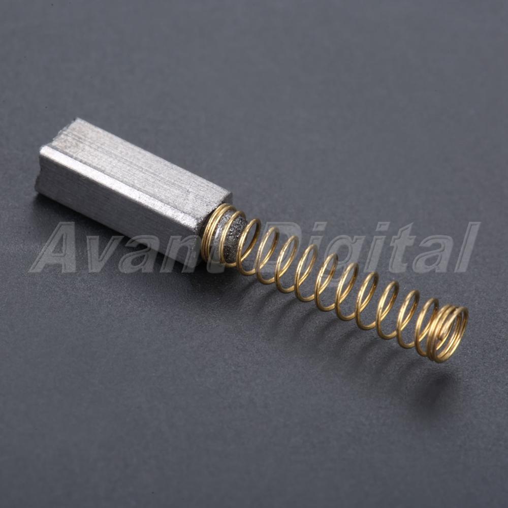 10pcs Home Sewing Machine Carbon Motor Brush Brand New
