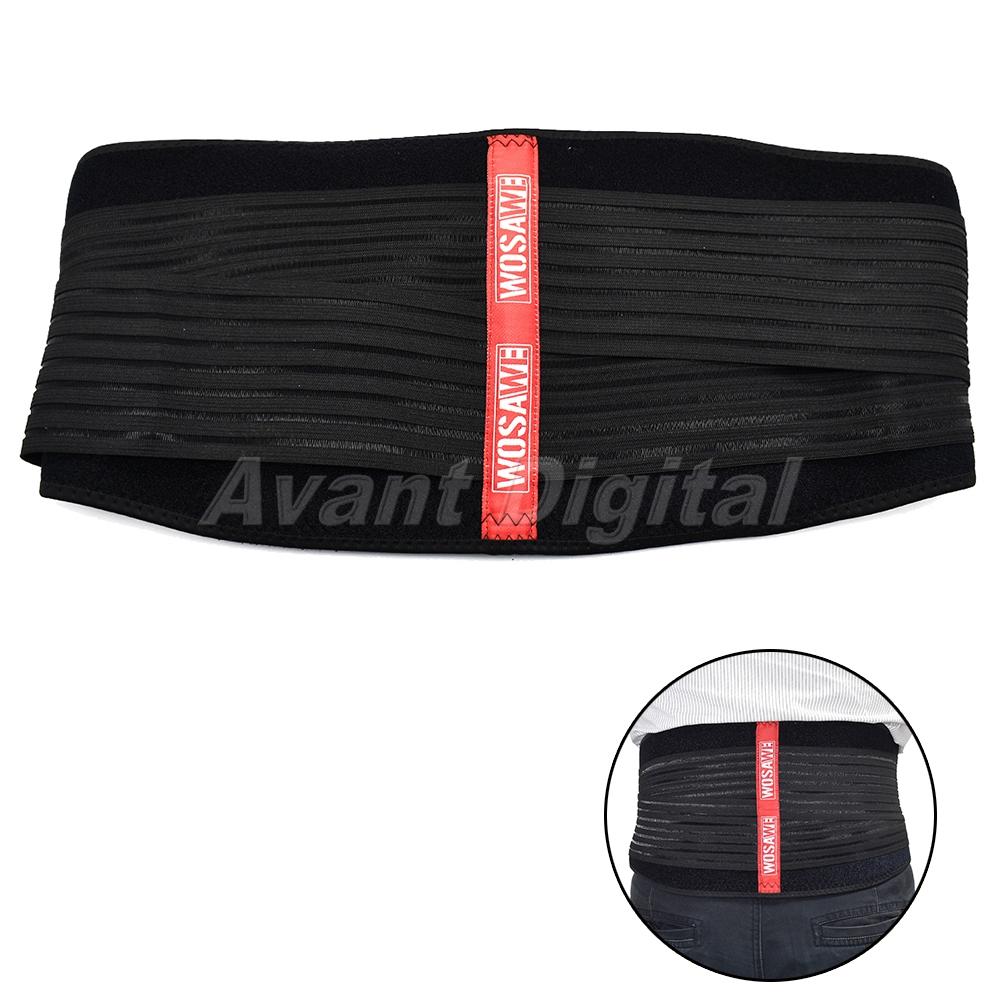 Motorbike Lower Back Belt for Men /& Women Adjustable Warmer Stretchable Back Support Motorcycle Kidney Belt