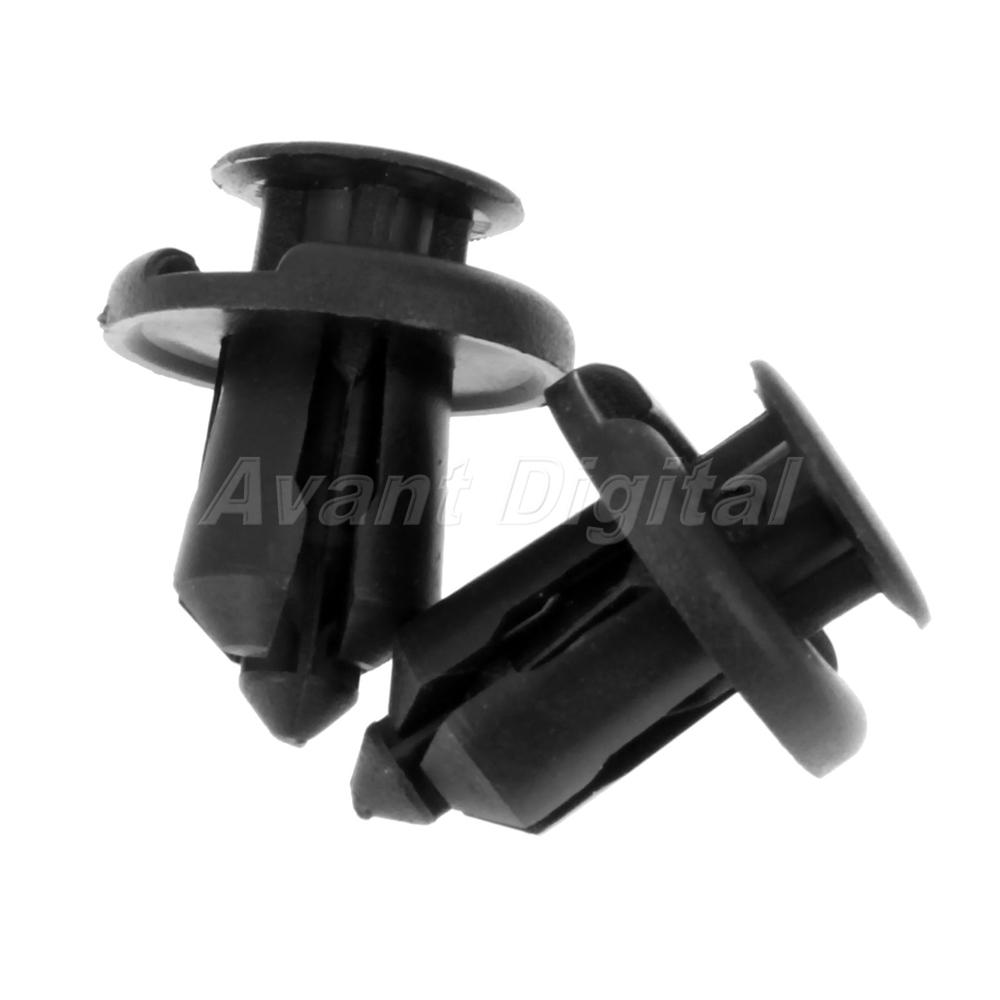 40PCS Plastic Rivets Clips Fasteners B17 B28 B02 C14 EACH 10PCS//Set  Push Type